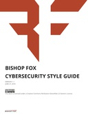 Bishop Fox Cybersecurity Style Guide