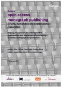 Guide to Open Access Monograph Publishing
