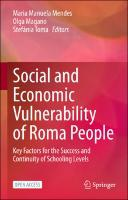 Social and Economic Vulnerability of Roma People