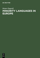 Minority Languages in Europe: A Classified Bibliography