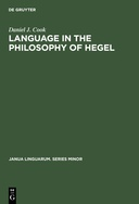 Language in the Philosophy of Hegel
