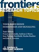 Thiol-based redox homeostasis and signalling