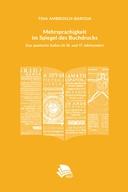 Mehrsprachigkeit Im Spiegel Des Buchdrucks